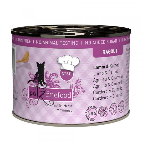 catz finefood Ragout N° 611 Lamm & Kamel 190g