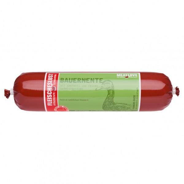 Fleischeslust Classic Bauernente mit Apfel & Amaranth 800g