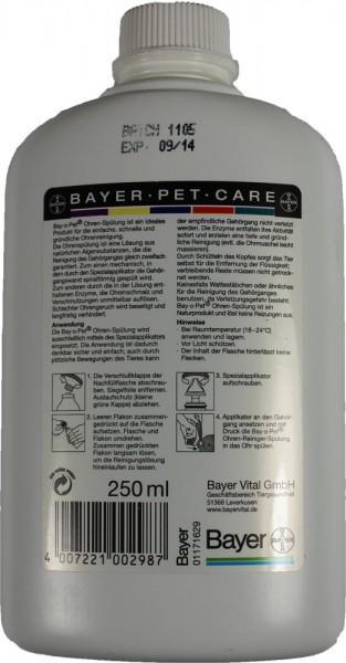 Bay-o-Pet Ohrenspülung 250ml Nachfüllflasche