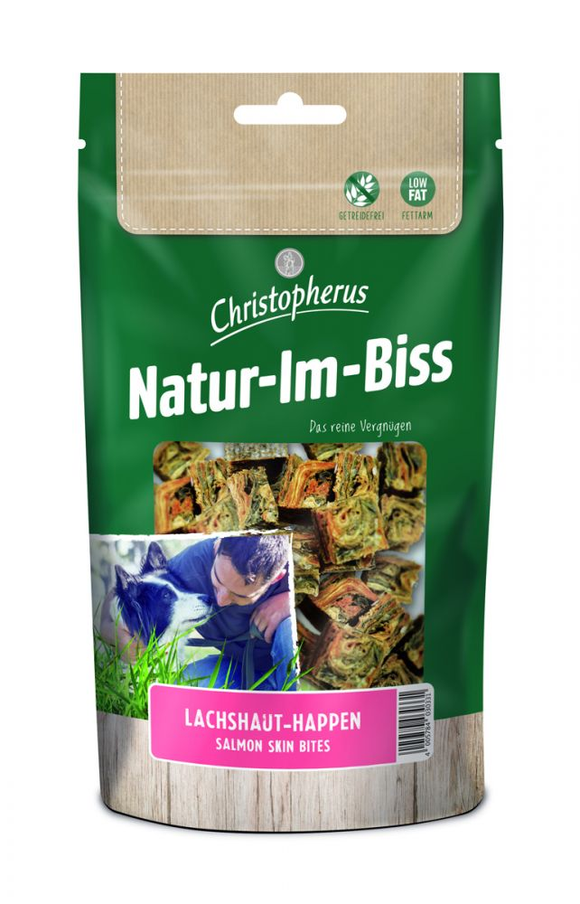 christopherus natur im biss 70g snacks hund futtershop24 hundefutter und katzenfutter. Black Bedroom Furniture Sets. Home Design Ideas