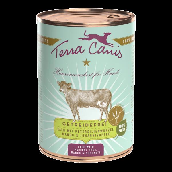 Terra Canis Kalb mit Petersilienwurze getreidefreies Menü