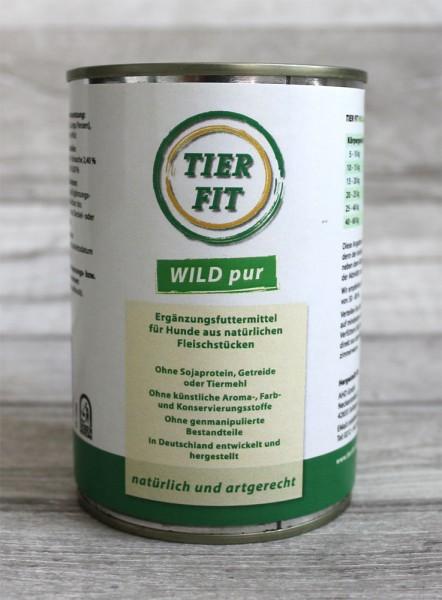 TierFit Reinfleischdose Wild pur