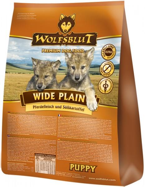 Wolfsblut Wide Plain Puppy mit Pferdefleisch und Süßkartoffeln