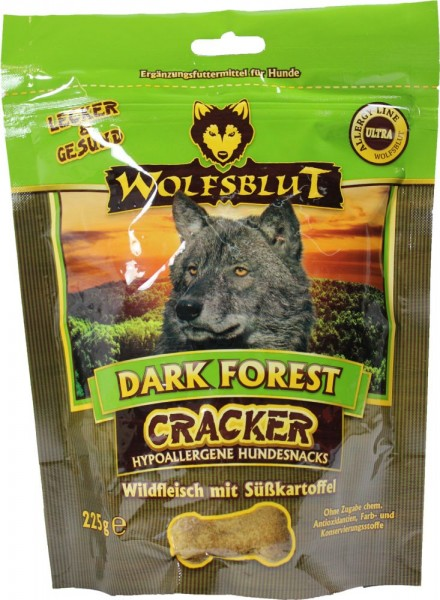wolfsblut dark forest cracker 225g futtershop24. Black Bedroom Furniture Sets. Home Design Ideas