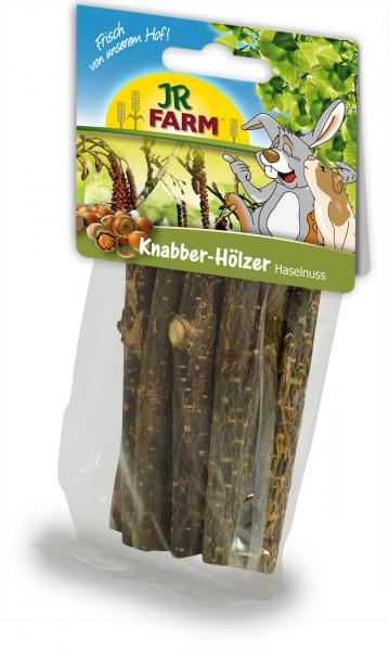 JR Farm Knabber-Hölzer Haselnuss 40g