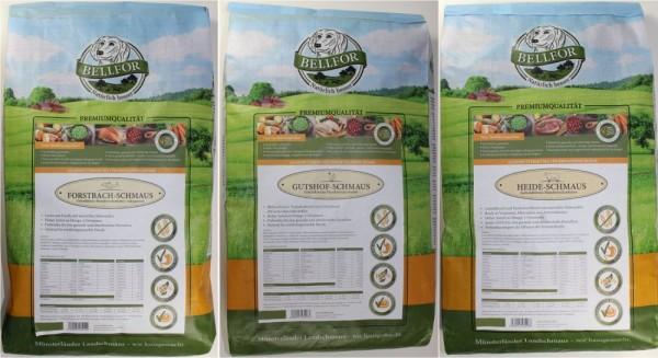 Bellfor Trockenfutter Testpaket TRIO
