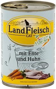 Landfleisch Cat - Schlemmertopf Ente & Huhn 400g