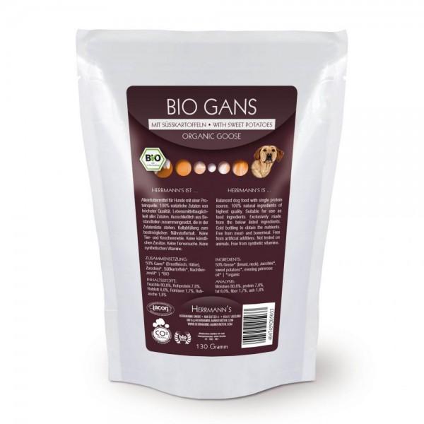 Herrmanns Bio Gans Menü Nr.1 mit Süßkartoffeln 130g