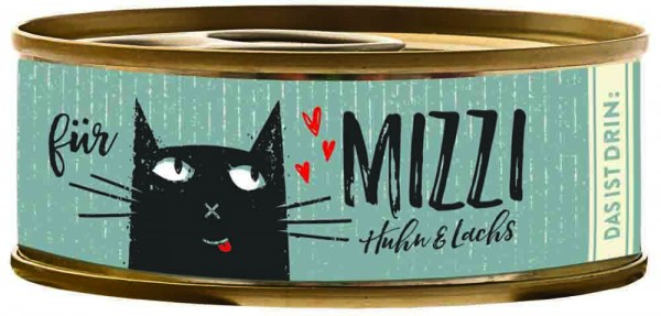 Bubeck Mizzi Huhn & Lachs 100g Katzenfutter