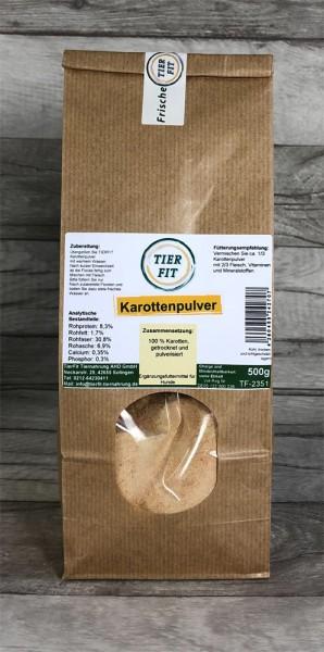 TierFit Karottenpulver