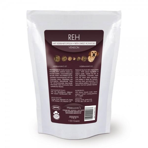 Herrmanns Reh Menü Nr.1 mit Bio Süßkartoffeln 130g