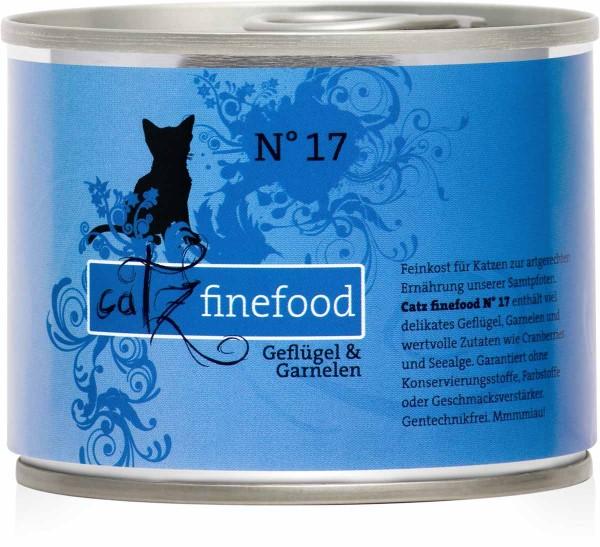 Catz finefood No. 17 Geflügel & Garnelen 200g