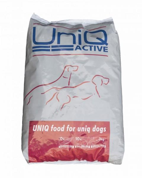 Uniq Active, Trockenfutter für aktivere Hunde