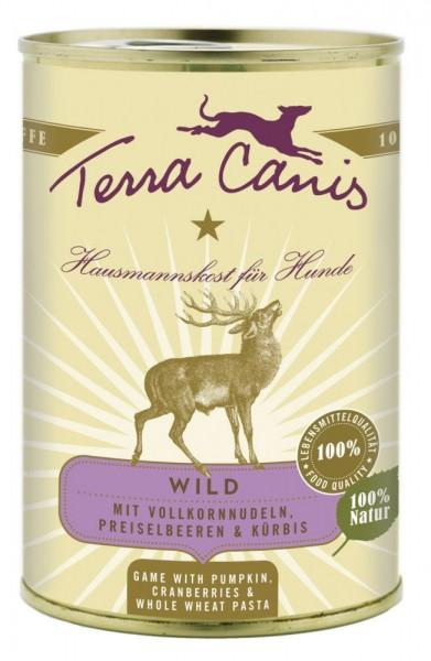 Terra Canis Wild mit Kürbis, Preiselbeeren & Vollkornnudeln