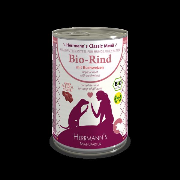 Herrmanns Classic Bio Rind Menü
