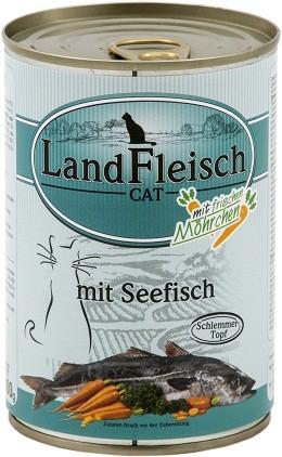 Landfleisch Cat - Schlemmertopf Seefisch 400g