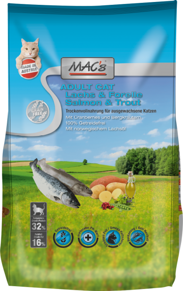 Macs Cat Lachs & Forelle Adult 300g
