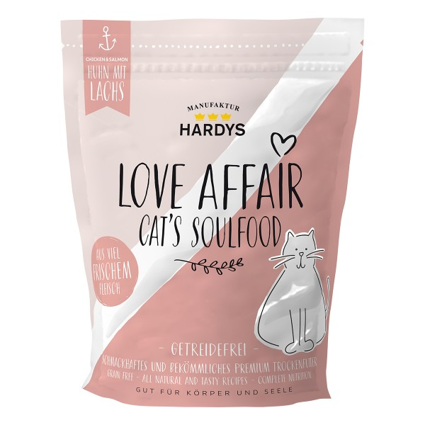 Hardys Traum Love Affair Soulfood Huhn & Lachs 375g