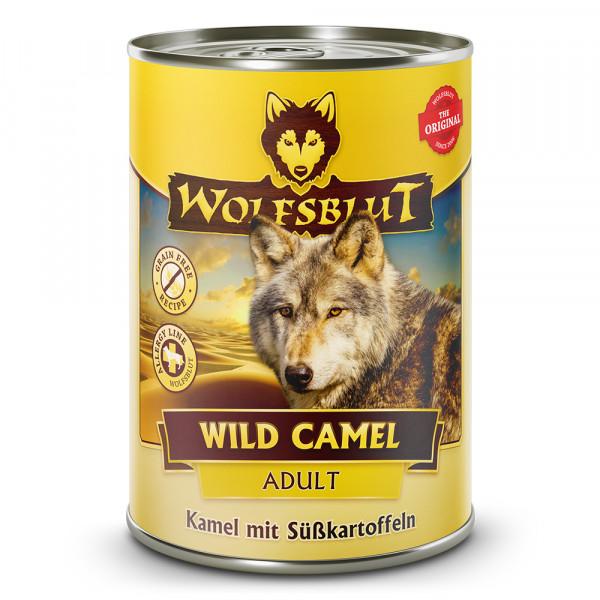 Wolfsblut Nassfutter Wild Camel mit Kamel und Süßkartoffeln 395g