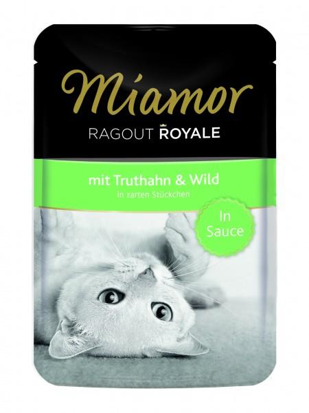 Miamor Ragout Royale Truthahn & Wild in Sauce 100g