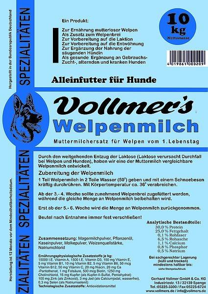 Vollmers Welpenmilch