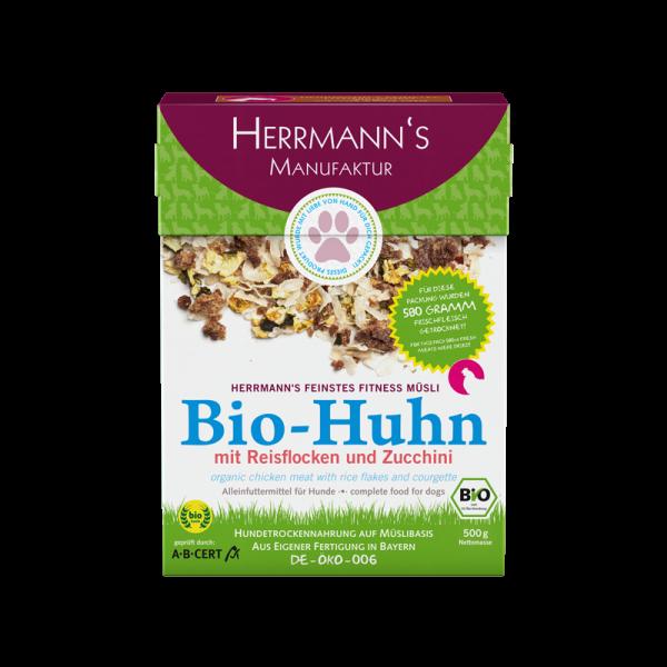 Herrmanns Fitnessmüsli Bio Huhn
