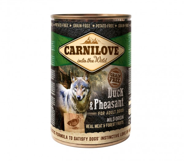 Carnilove Adult Duck & Pheasant 400g Dose