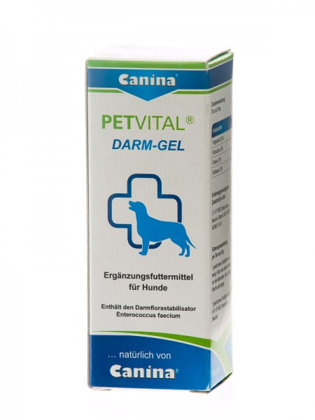 Canina Dog Petvital Darm Gel 30ml