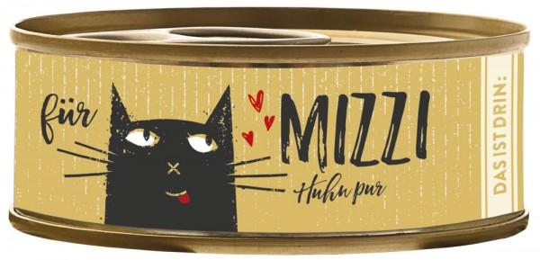 Bubeck Mizzi Huhn pur 100g Katzenfutter