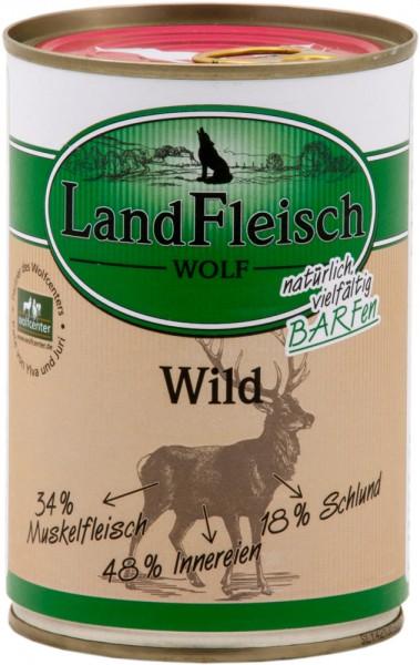 Landfleisch Wolf Sensibel Wild 400g