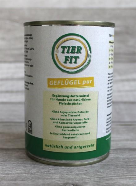 TierFit Reinfleischdose Geflügel pur