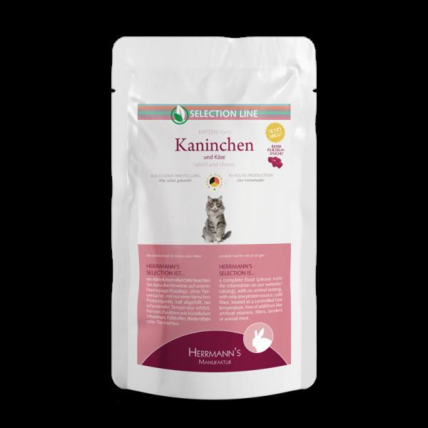 Herrmanns Selection Kaninchen Katzenfutter