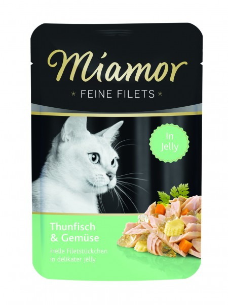 Miamor Feine Filet Thunfisch & Gemüse in Jelly 100g