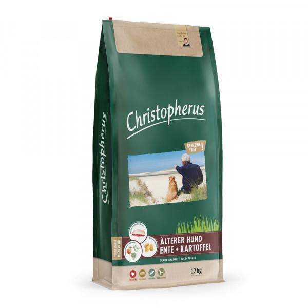 Christopherus getreidefrei älterer Hund Ente & Kartoffel 12kg