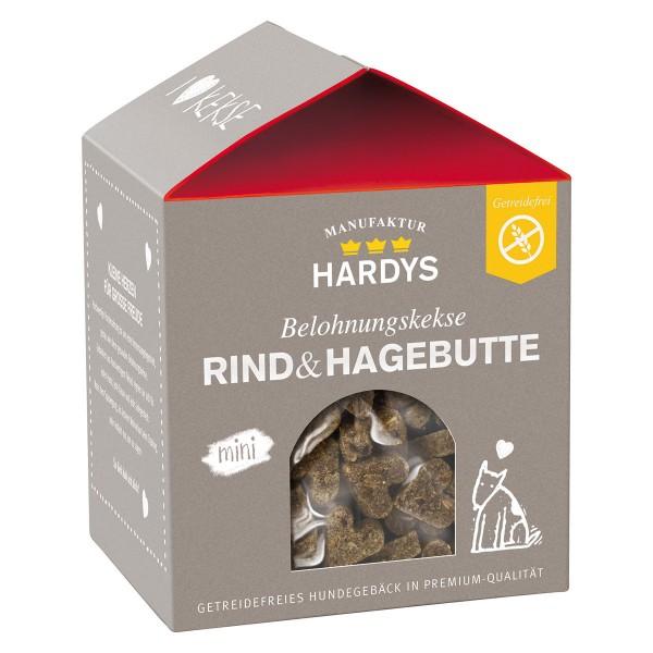 Hardys Traum Belohnungskekse Rind & Hagebutte 125g