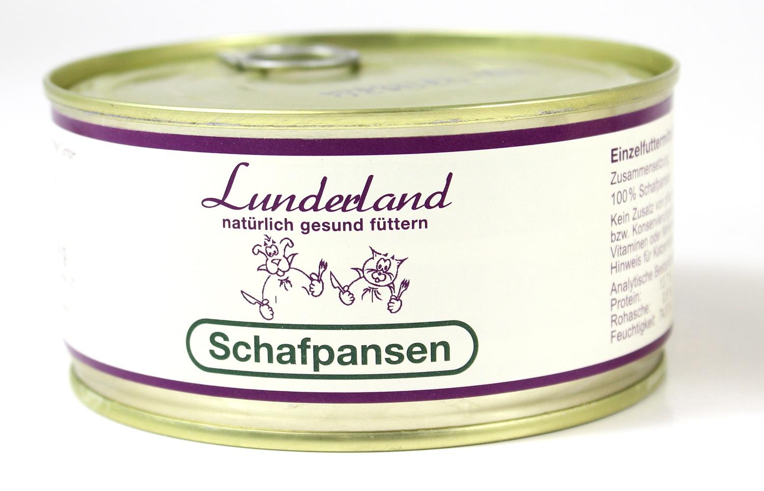 lunderland schafpansen 300g futtershop24 hundefutter und. Black Bedroom Furniture Sets. Home Design Ideas