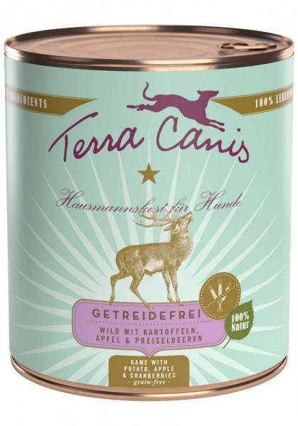 Terra Canis Sensitiv Wild mit Kartoffeln, Apfel & Preiselbeeren