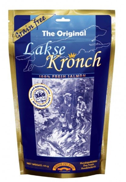 Henne Pet Food Kronch Lachs-Snack 100%