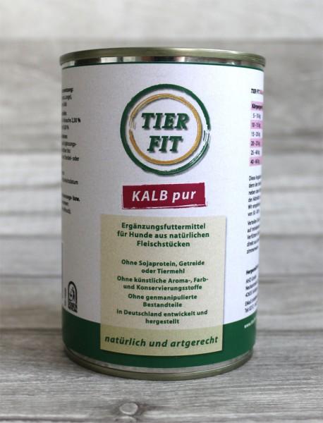 TierFit Reinfleischdose Kalb pur