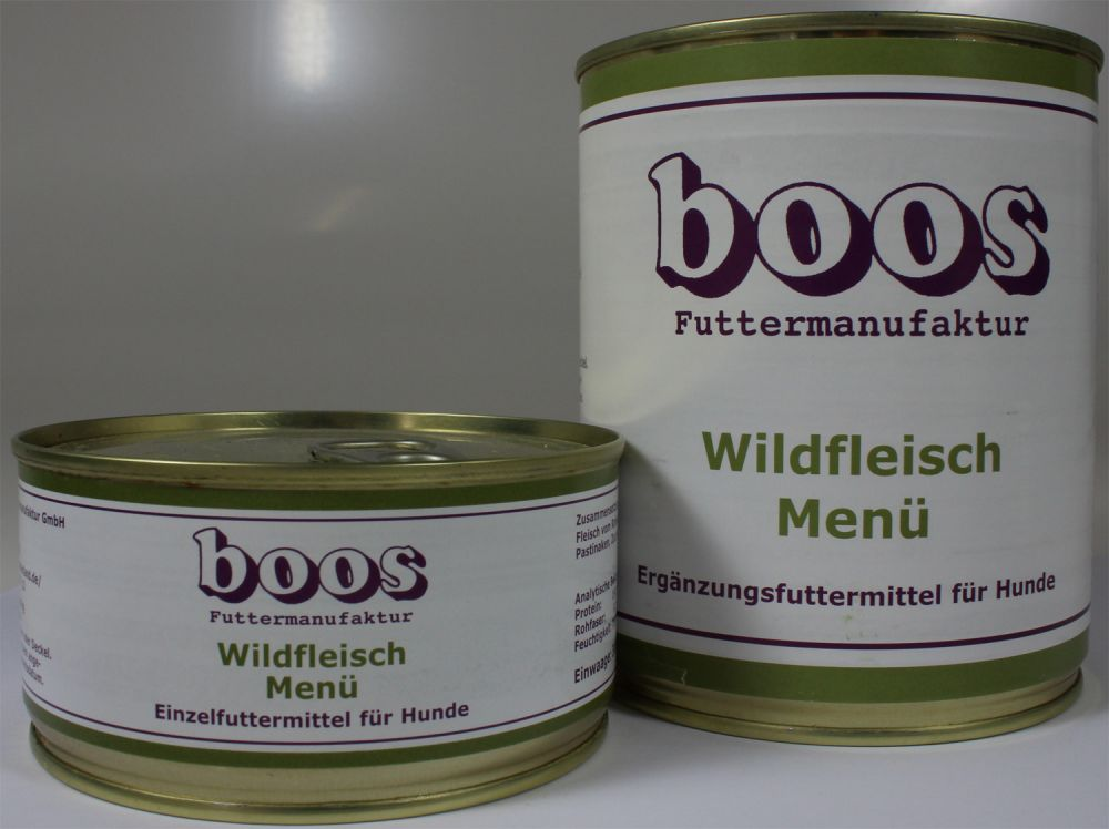boos wildfleisch men 300g bei futtershop24 hundefutter und katzenfutter. Black Bedroom Furniture Sets. Home Design Ideas