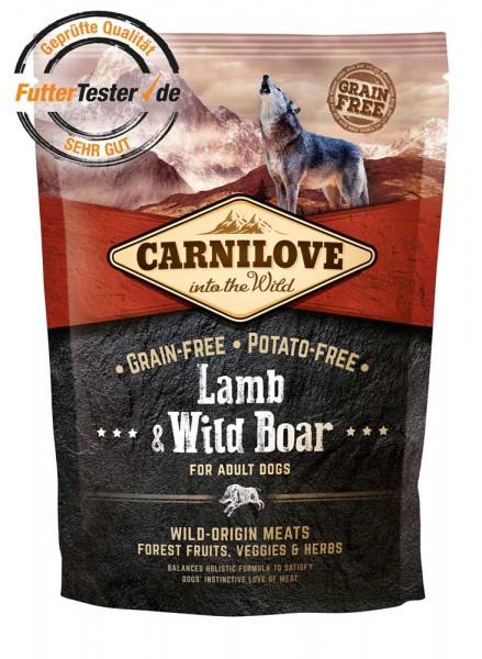 Carnilove Lamb & Wild Boar Adult