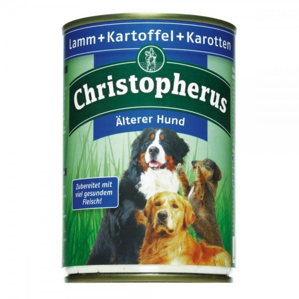 Christopherus älterer Hund Lamm & Kartoffeln