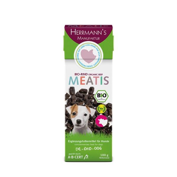 Herrmanns Meatis Bio Rind für den Hund 100g