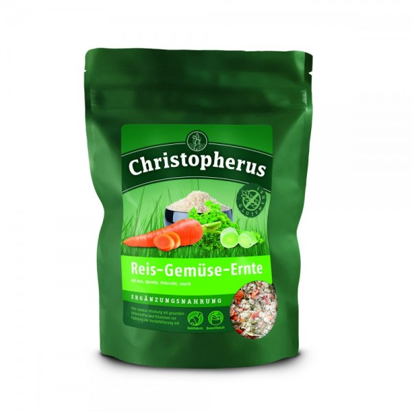 Christopherus Reis Gemüse Ernte 1750g