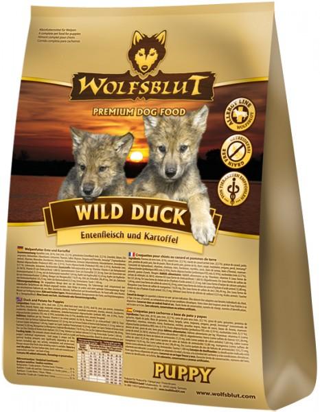 Wolfsblut Wild Duck Puppy mit Ente und Kartoffel