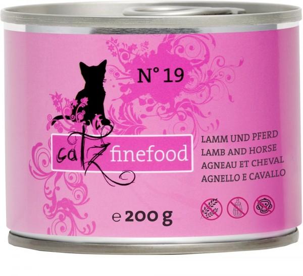 Catz finefood No. 19 Lamm & Pferd 200g