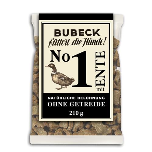 Bubeck getreidefreie Belohung Nr. 1 mit Ente 210g