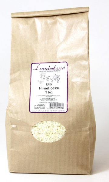 Lunderland Bio Hirseflocke