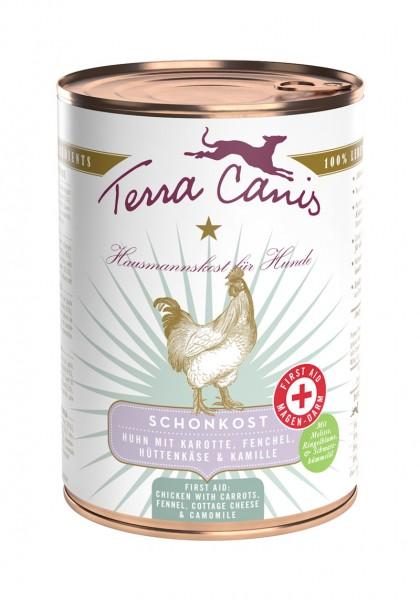 Terra Canis Menü First Aid Schonkost Huhn mit Karotte 400g