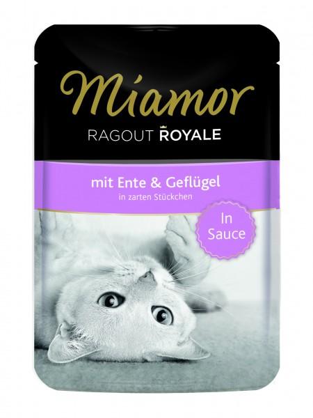 Miamor Ragout Royale Ente & Geflügel in Sauce 100g